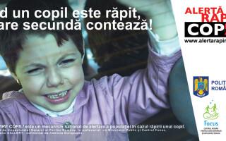 flyer prezentare sistem alerta rapire copil