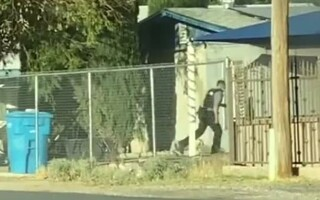 politist texas incendiu