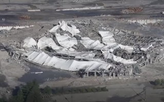 Clădire prăbușită în Nigeria