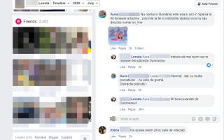 Facebook strand Mihaiesti