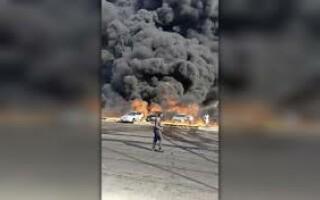 incendiu conducta petrol cairo