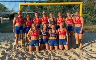 Echipa de handbal pe plajă a Norvegiei
