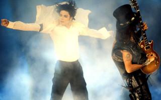 Michael Jackson, Slash