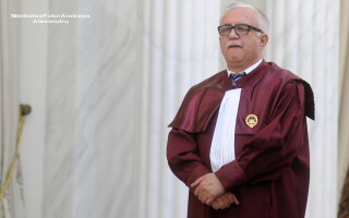 Presedintele Curtii Constitutionale, Augustin Zegrean