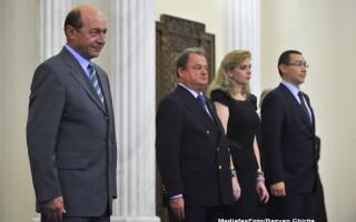 Traian Basescu, Vasile Blaga, Roberta Anastase, Victor Ponta