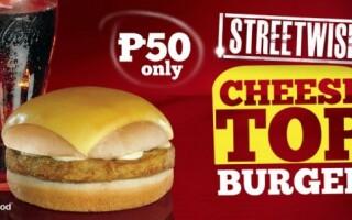 KFC, Cheese Top Burger