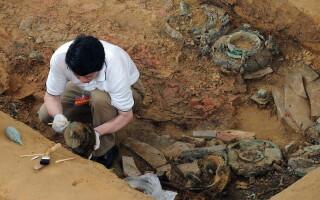 arheologi, ceramica, China