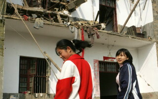 case in ruina, China, cutremur