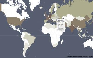 harta cei mai influenti oameni din istorie