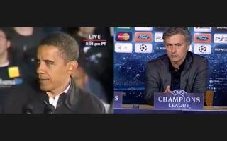 Mourinho si Obama