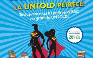 UNTOLD Festival premiaza elevii cu rezultate bune la BAC