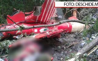 Elicopter SMURD prabusit in Republica Moldova