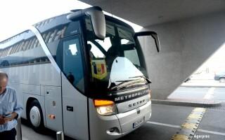 autocarul echipei nationale