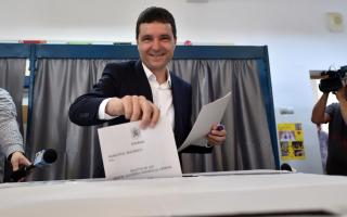 Nicusor Dan la vot