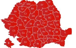 Harta rezultate