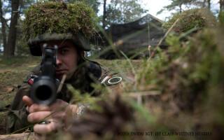 exercitiu militar NATO in Polonia, ANaconda 2016, soldat polonez