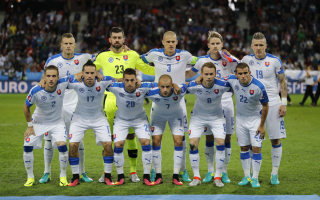 echipa Slovaciei - Agerpres
