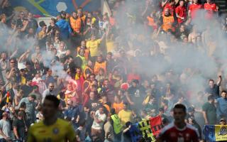 suporteri Romania - Agerpres