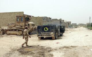 soldati irakieni in Fallujah - Agerpres