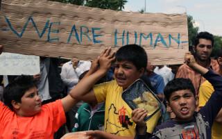 refugiati sirieni in Grecia - agerpres