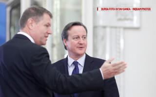 Premierul britanic David Cameron