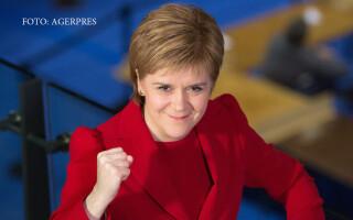 Nicola Sturgeon, prim-ministru al Scotiei