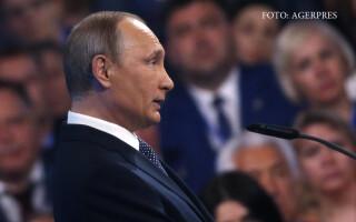 Vladimir Putin la congresul partidului