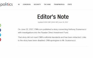 cnn, Anthony Scaramucci, Kirill Dmitriev. jurnalisti, demisii,