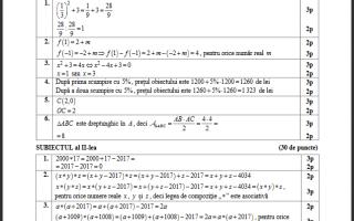 barem 2017 matematica model pedagogic 1