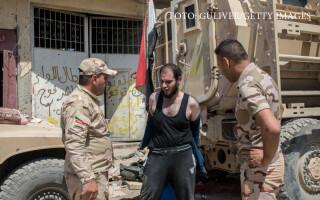 jihadist capturat in Mosul