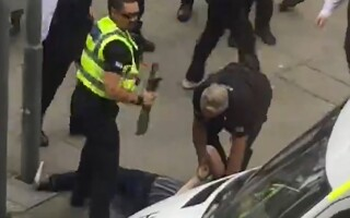 arestare barbat cu maceta la concert Justin Bieber