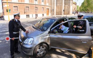 soferita oprita de politisti in Italia
