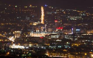 Orasul Iasi noaptea