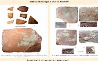 descoperire arheologică Galați