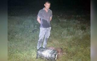 Un moldovean a adus mii de ţigări de contrabandă cu drona