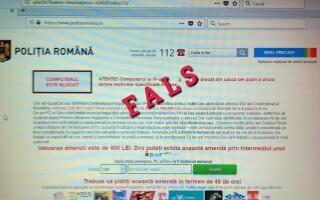 frauda Poliția Romana