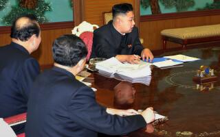 Kim Jong-Un telefon