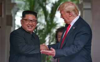 Kim Jong-un si Donald Trump