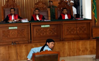 Aman Abdurrahman la tribunal