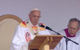 Papa Francisc, Sumuleu Ciuc