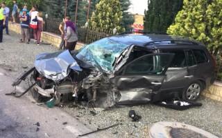Accident grav la Crucea, în Constanța
