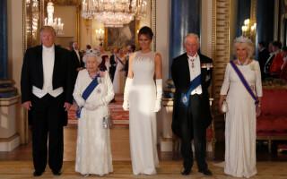 Imagini spectaculoase de la dineul oferit de Regină în cinstea lui Trump - 14