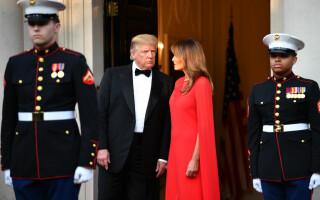 Donald Trump si Melania