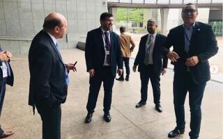 Victor Ponta și Traian Băsescu, la Parlamentul European