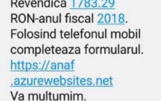ANAF, avertisment pentru populație