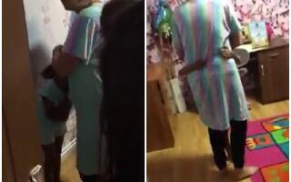 Reacția Poliției Române după ce o fetiță a fost luată cu forța din casa sa, din Mehedinți