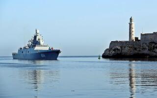 fregata Amiral Gorshkov in Cuba