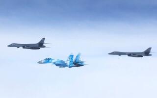 Exercițiu militar cu avioane de vânătoare din România, în Marea neagră - 3