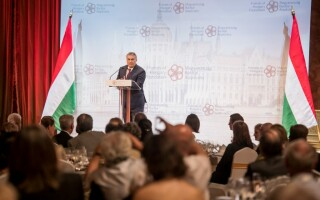 Viktor Orban, la o întâlnire a Friends of Hungary Foundation