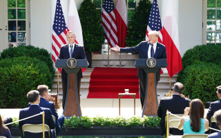 donald trump si presedinte polonia